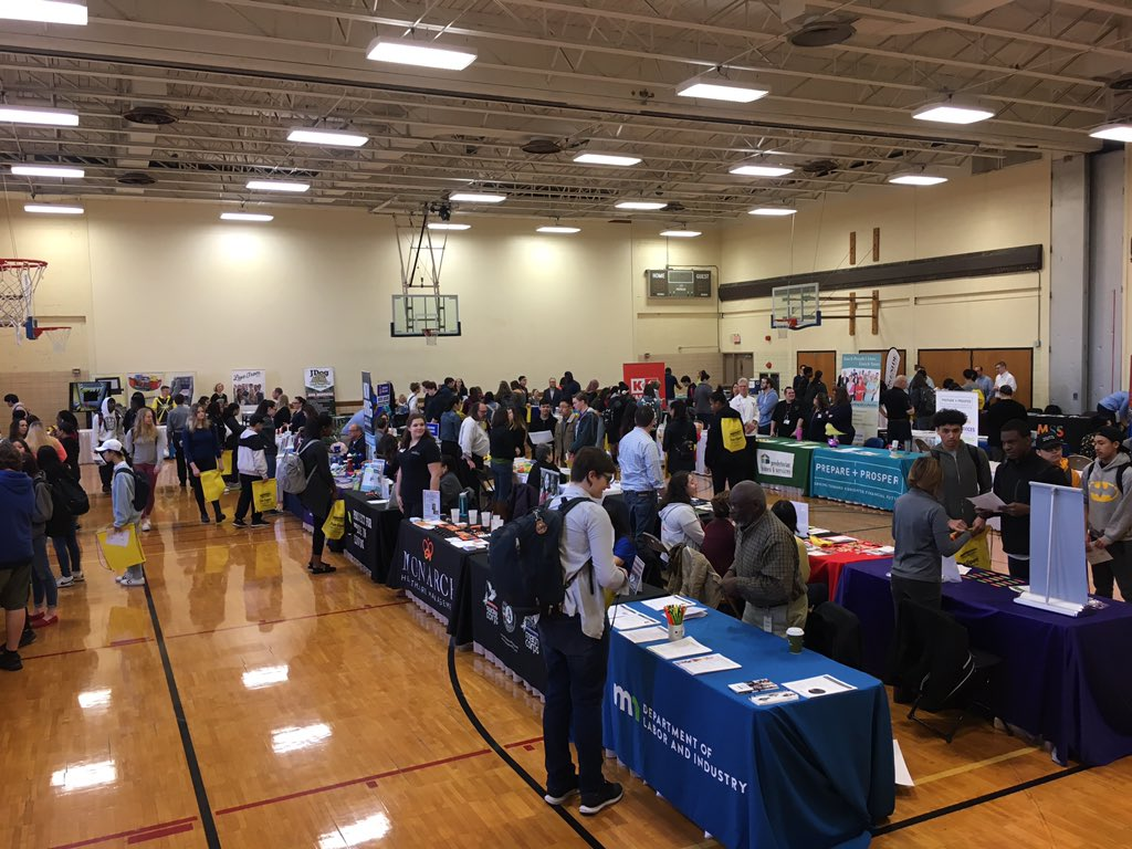 Job Seekers and Employers Connect at the Annual Roseville Area Job, Career & Resource Fair Photo - Click Here to See